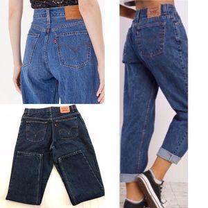Levi's 550 High Waisted Mom Jeans